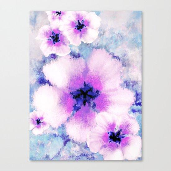 Rose of Sharon Bloom Canvas Print