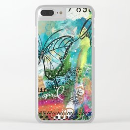 Live Iife Inspired Clear iPhone Case