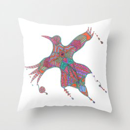 Color for Life II Throw Pillow