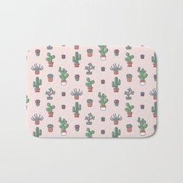 I Love Succulents Bath Mat
