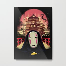 Welcome to the Magical Bath House  Metal Print