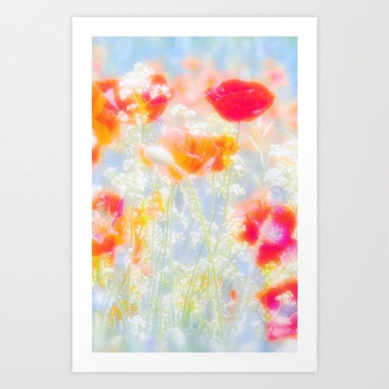 FLOWERS OF VENUS Art Print