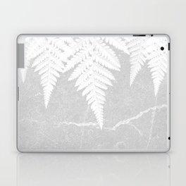 Fern fringe - concrete Laptop & iPad Skin