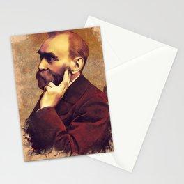 Alfred Nobel, Inventor Stationery Cards