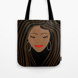 Girl 2 Tote Bag