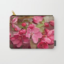 Vintage Crabapple Carry-All Pouch