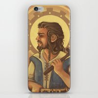 thorin iPhone & iPod Skins featuring Thorin by MelColley