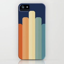 Retro Chart iPhone Case