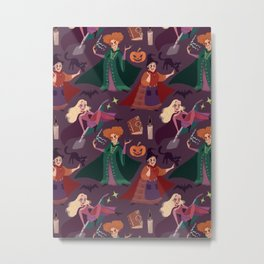 The Witch is Back! Metal Print