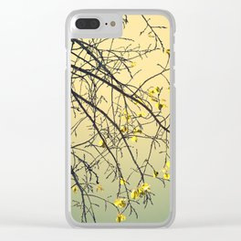 Flourished once again Clear iPhone Case