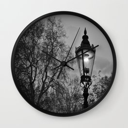 Lamplight Wall Clock
