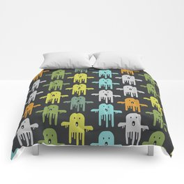 Funny ghosts Comforters