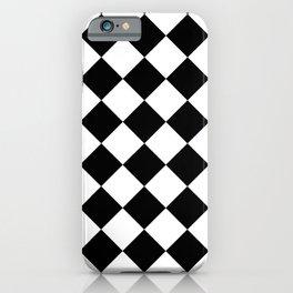 HARLEQUIN (BLACK & WHITE) iPhone Case