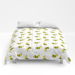 Bumble Bee Pattern Comforters