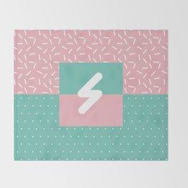 Memphis Style N°5 Throw Blanket