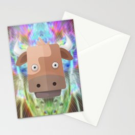 Cow's Aweken Stationery Cards