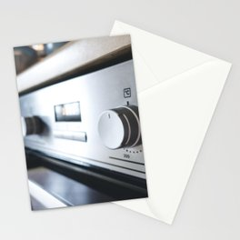 Oven temperature button Stationery Cards