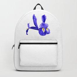 Wild Purple Van Gogh Inspired Iris Backpack