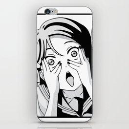 Too lewd! iPhone Skin