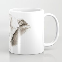 Let Sleeping Dogs Lie :: Sepia Coffee Mug