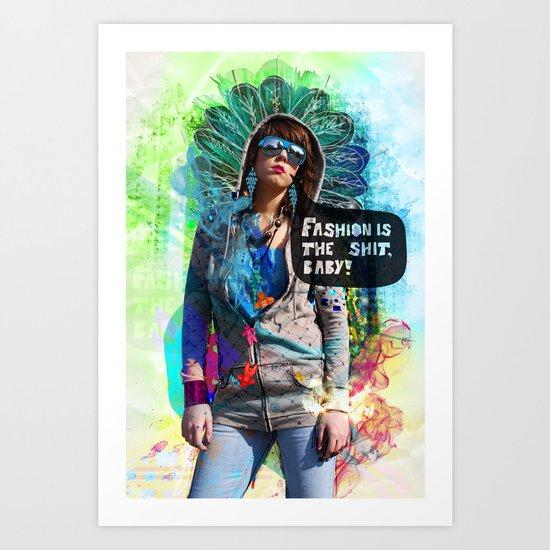 Fashion victim Art Print