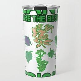 Best Medicine Plant Vegan Vegan Gift Travel Mug