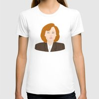 scully T-shirts featuring Dana Scully by Anna Valle