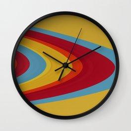 Saturn Rings - Abstract Wall Clock