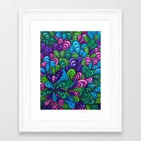 jungle Framed Art Prints featuring Jungle by datavis/pwowk