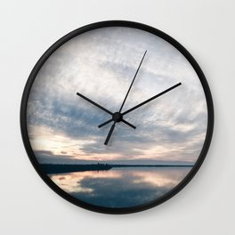 BLUE MOON XX / Alviso, California Wall Clock