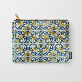 Tiles pattern Carry-All Pouch