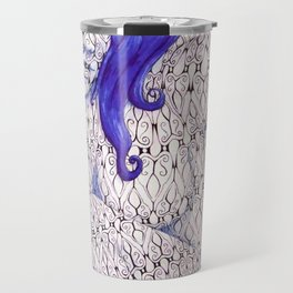 Tessellated Woman Travel Mug