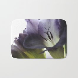 Freesia flowers Bath Mat