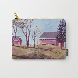 The Evangeline Trail, N.S.  Canada Carry-All Pouch