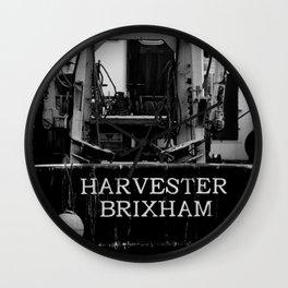 Harvester Brixham Fishing Boat Wall Clock