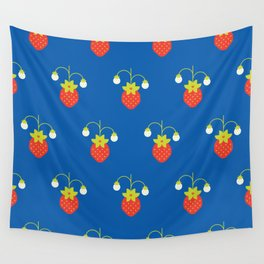 Fruit: Strawberry Wall Tapestry