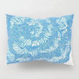 March's Blue 5      Artline Drawing Pens Sketch Pillow Sham