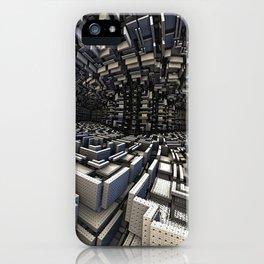 Geometric Fractal iPhone Case