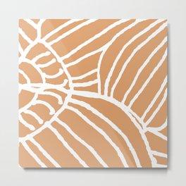 Cone Shell Metal Print