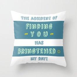 """Bringtehed"" Throw Pillow"