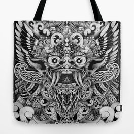 Barong Bali Tote Bag
