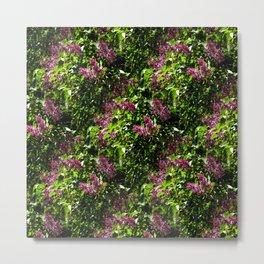 Flowing lilacs... Metal Print