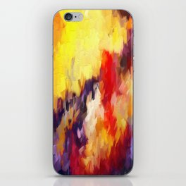 Abstract Impressions of an Abstract iPhone Skin