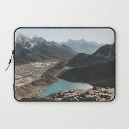 Gokyo Ri overlooking Gokyo Lakes in Everest Region Laptop Sleeve