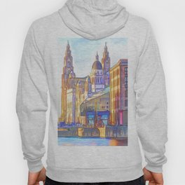 World famous Three Graces (Digital painting) Hoody