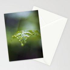 Raining Green Stationery Cards