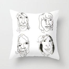 ABBA Throw Pillow