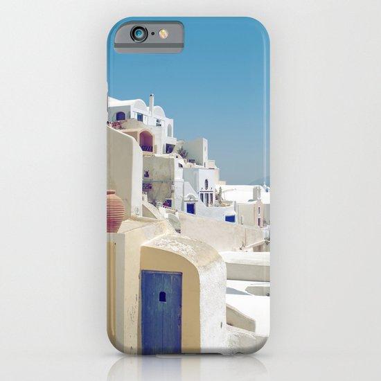 Santorini Door VIII iPhone & iPod Case