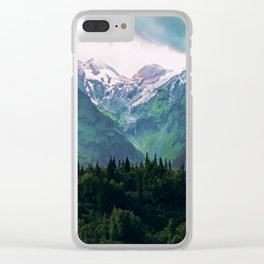 Escaping from woodland heights III Clear iPhone Case