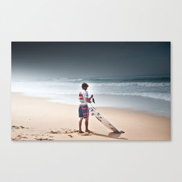 Pro Surfer Kolohe Andino Canvas Print